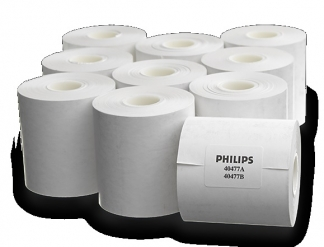Thermal array recorder paper blank