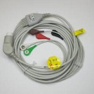 ECG 5 lead trunk cable and grabber 630;640;660