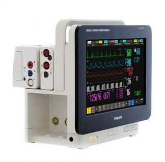 Philips IntelliVue MX500 Patient Monitor + IBP + EtCO2 + PiCCO