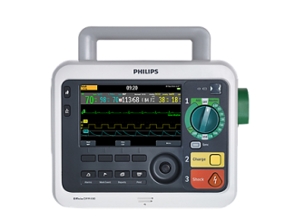 Philips Efficia DFM100 Defibrillator + SpO2 + NIBP + Pacing + EtCO2