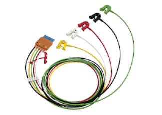 M1974A Cbl 5 lead set Grabber IEC OR