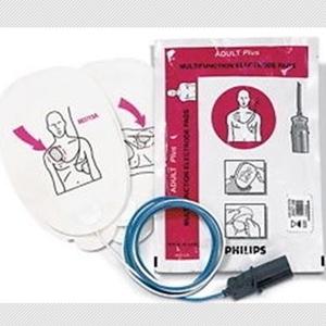 ELECTRODE PADS PLUG STYLE UTK DEFIB M4735A or FR2